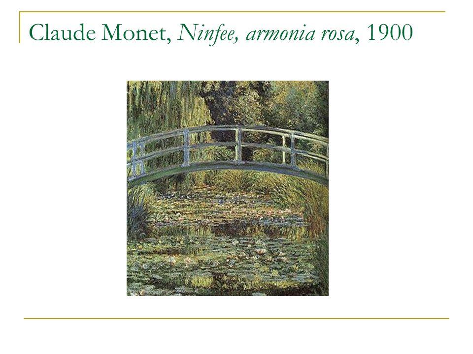 Claude Monet, Ninfee, armonia rosa, 1900