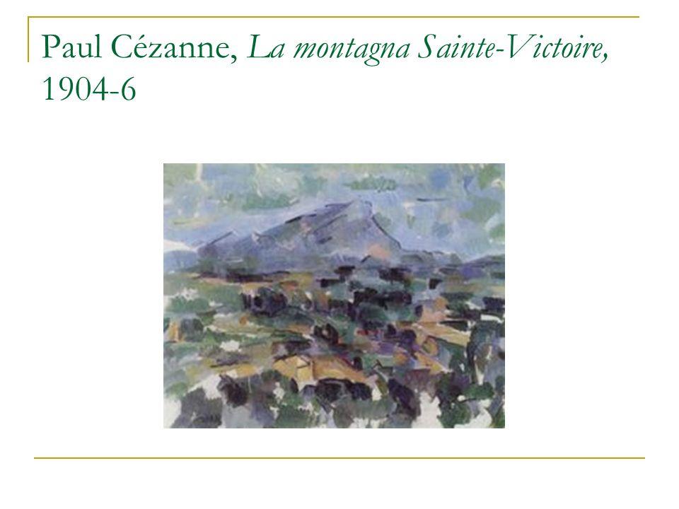 Paul Cézanne, La montagna Sainte-Victoire, 1904-6