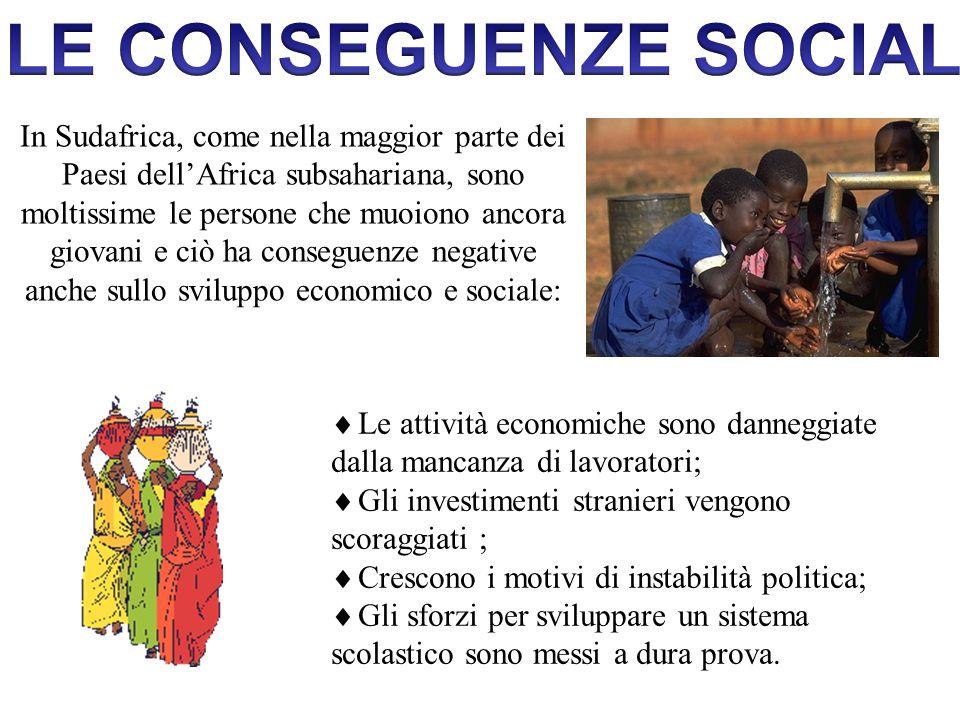 LE CONSEGUENZE SOCIALI