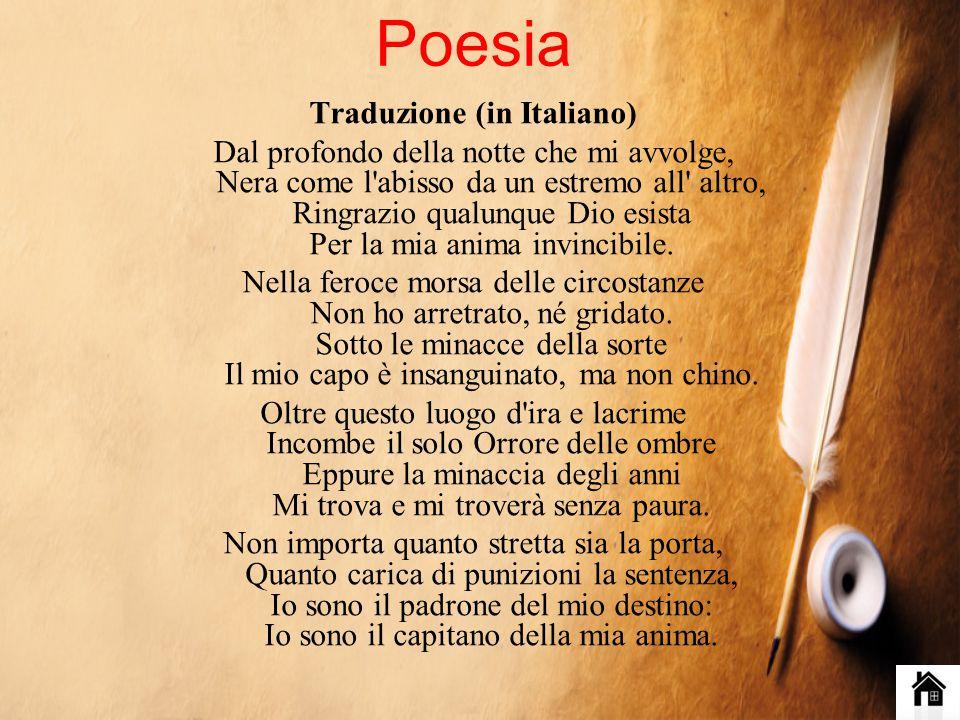 Traduzione (in Italiano)