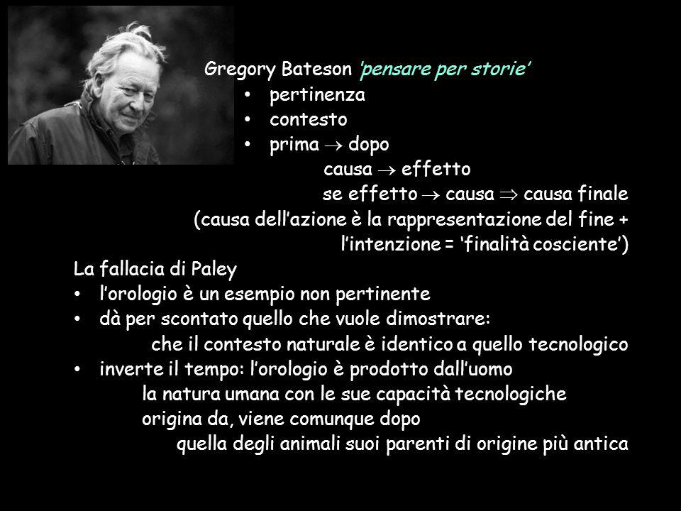 Gregory Bateson 'pensare per storie'
