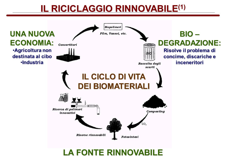 IL RICICLAGGIO RINNOVABILE(1)