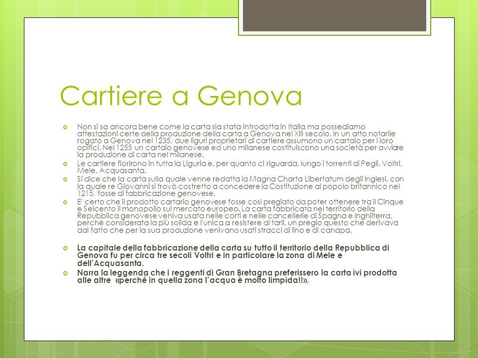 Cartiere a Genova