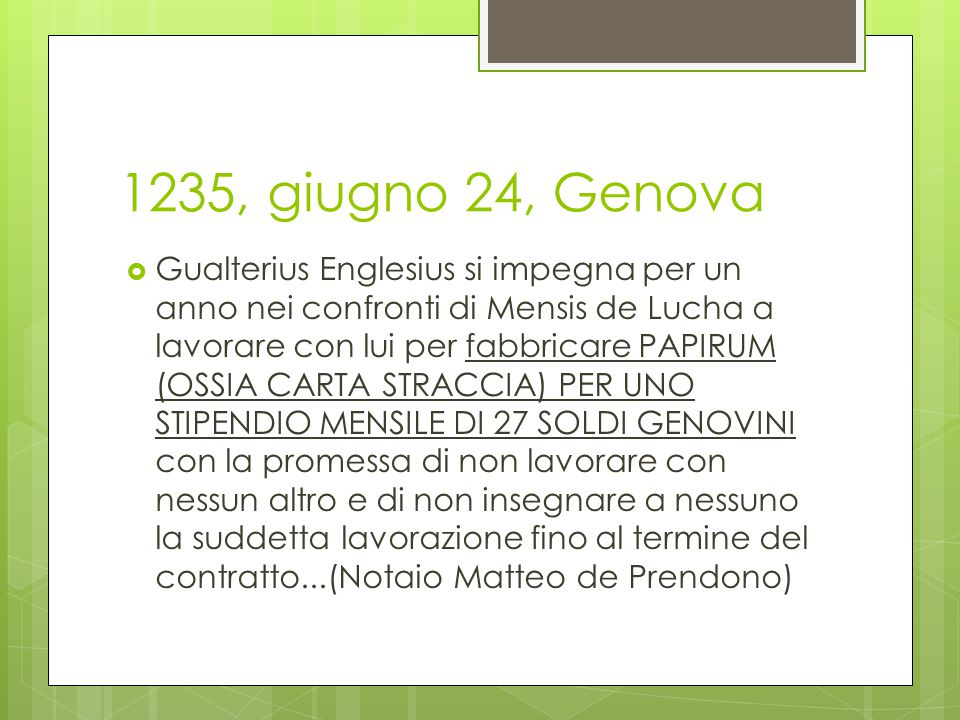 1235, giugno 24, Genova