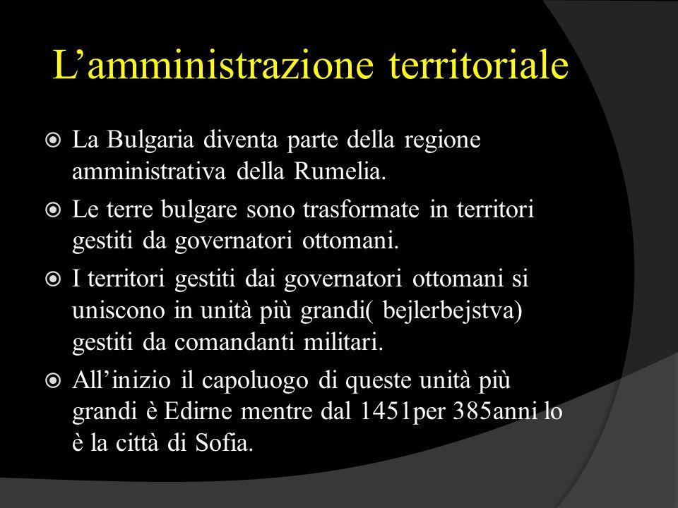 L'amministrazione territoriale