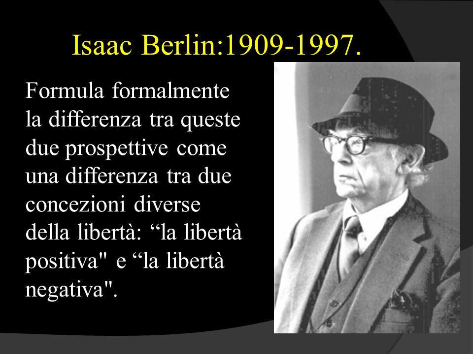 Isaac Berlin:1909-1997.