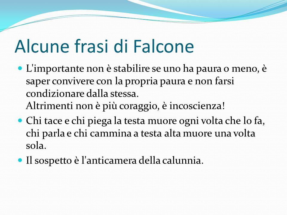 Alcune frasi di Falcone