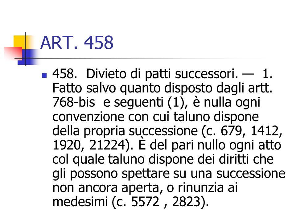 ART. 458
