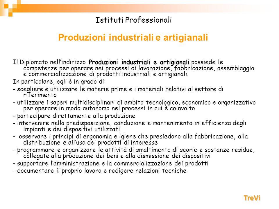 Produzioni industriali e artigianali