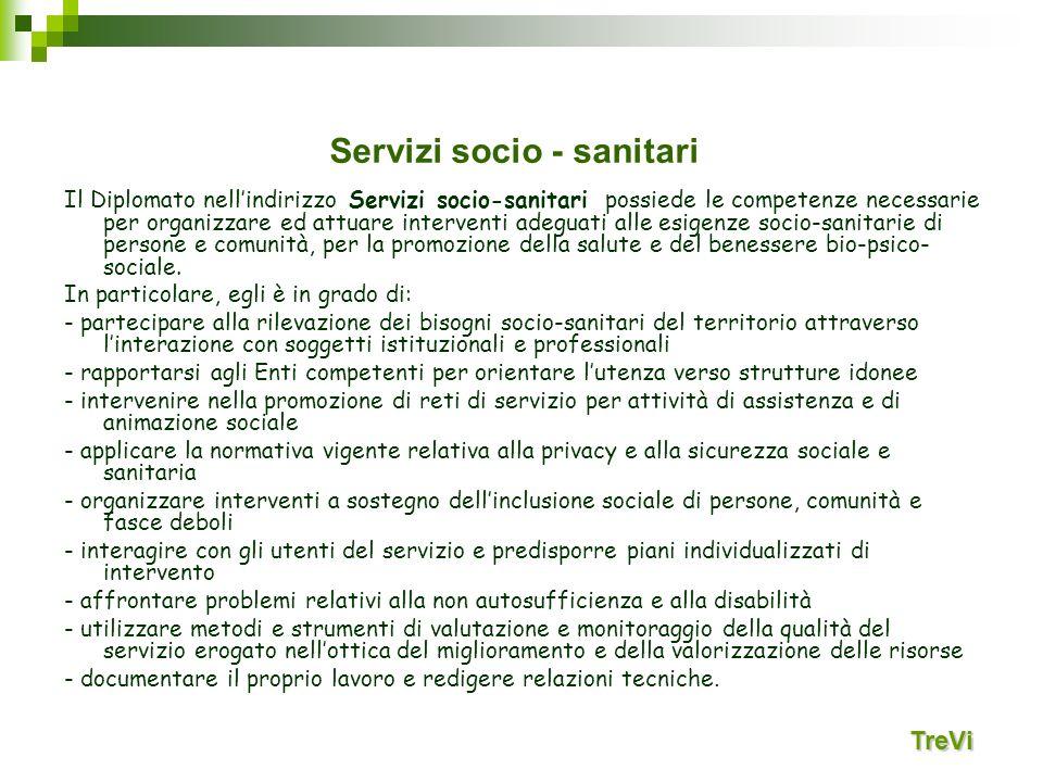 Servizi socio - sanitari
