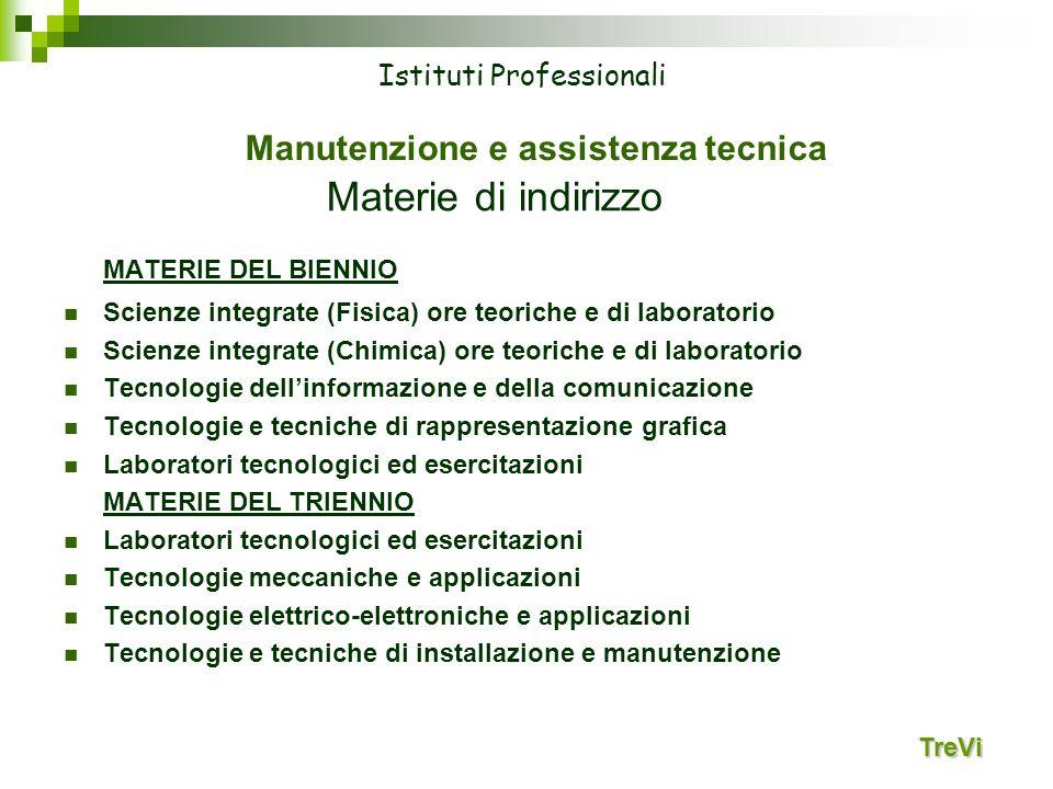 Manutenzione e assistenza tecnica