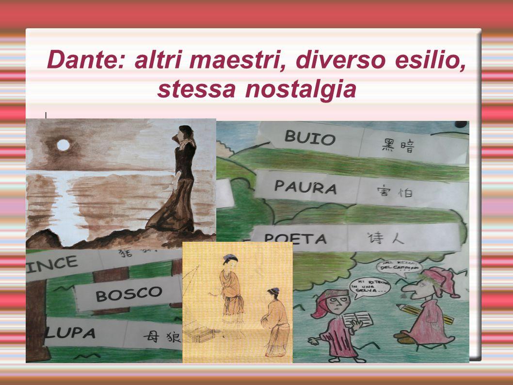 Dante: altri maestri, diverso esilio, stessa nostalgia