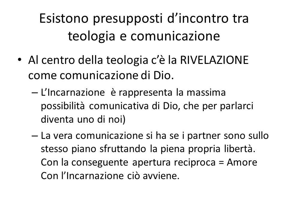 Esistono presupposti d'incontro tra teologia e comunicazione