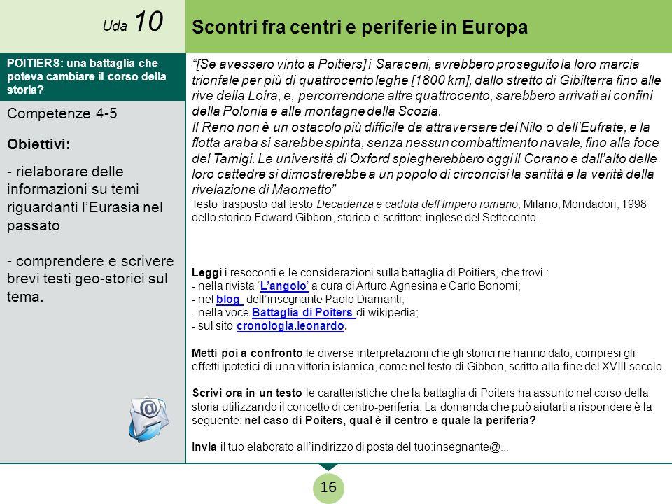 Scontri fra centri e periferie in Europa
