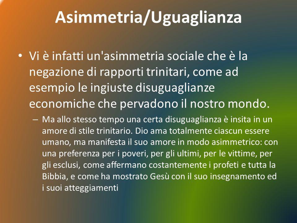 Asimmetria/Uguaglianza