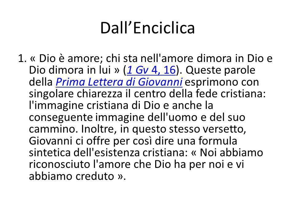 Dall'Enciclica