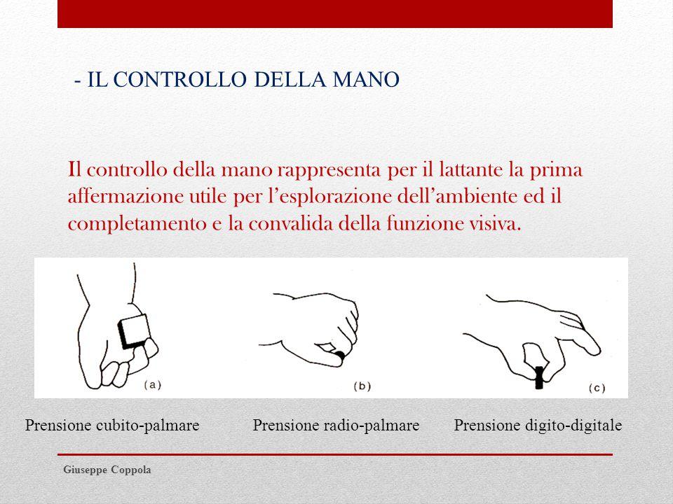 - IL CONTROLLO DELLA MANO