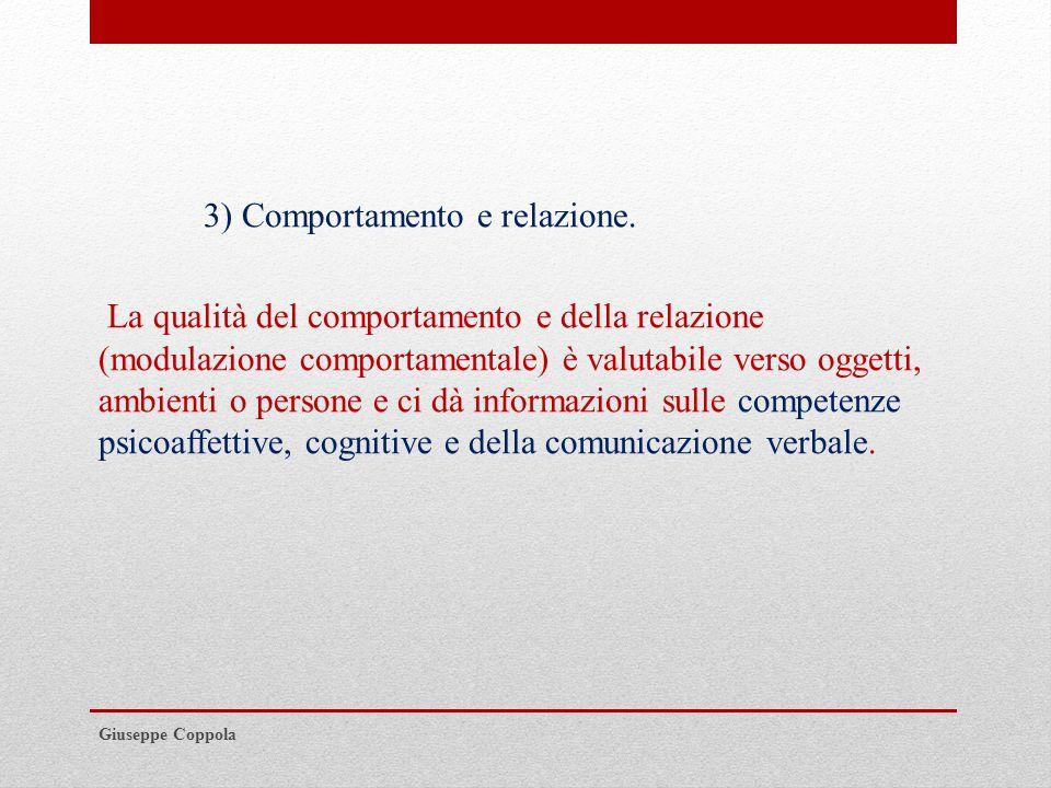 3) Comportamento e relazione