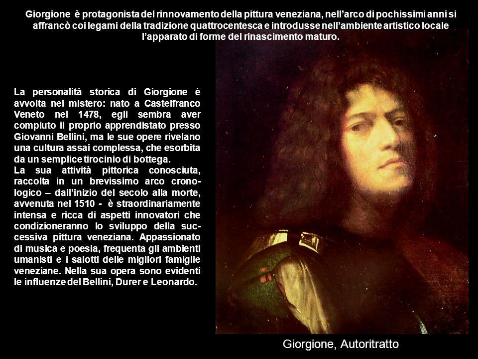 Giorgione, Autoritratto