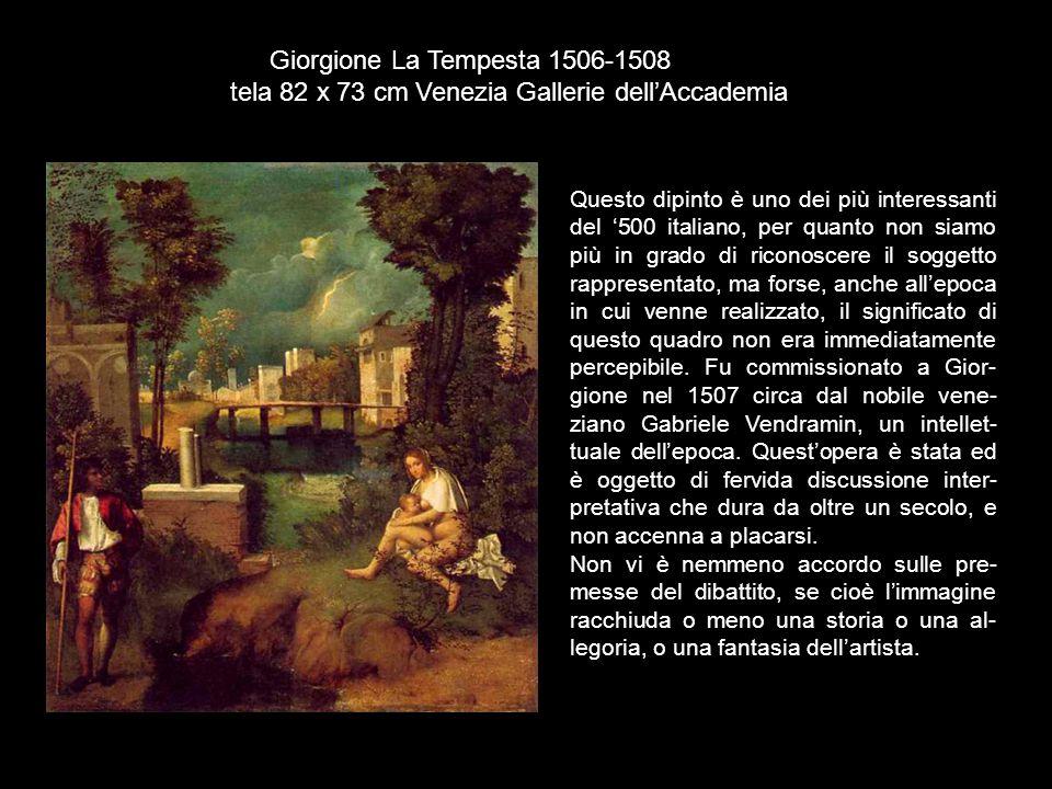 tela 82 x 73 cm Venezia Gallerie dell'Accademia