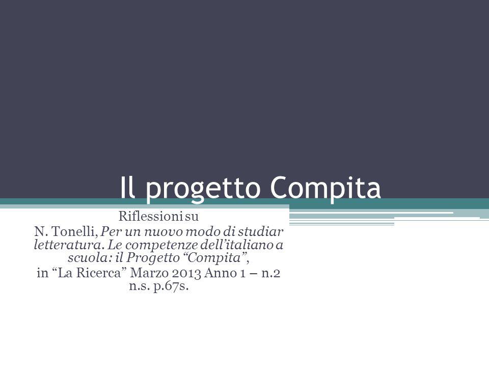 in La Ricerca Marzo 2013 Anno 1 – n.2 n.s. p.67s.