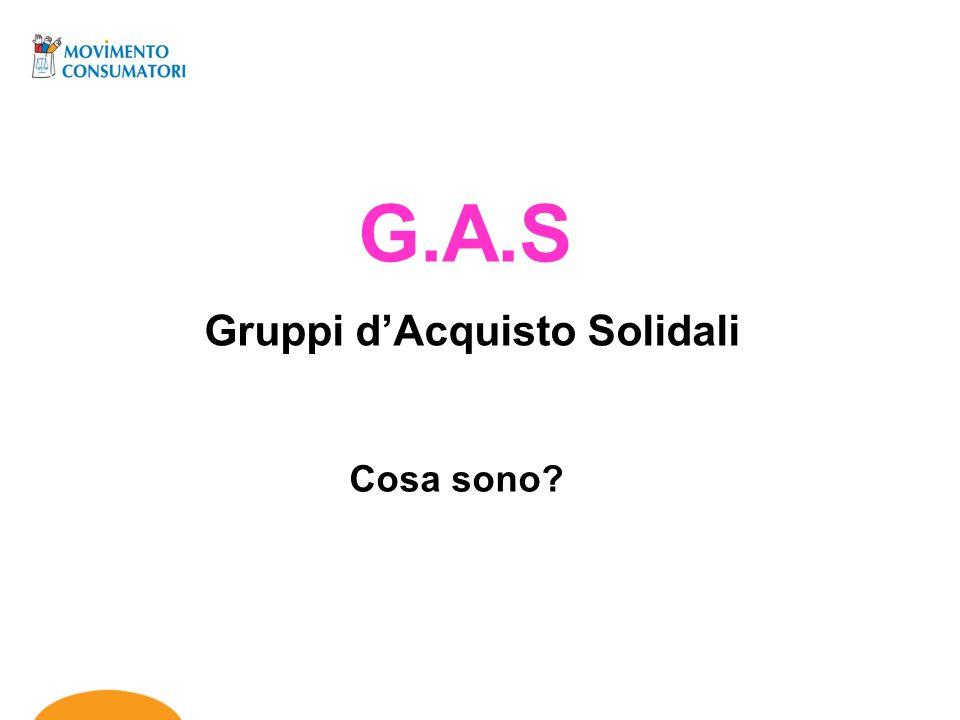 Gruppi d'Acquisto Solidali