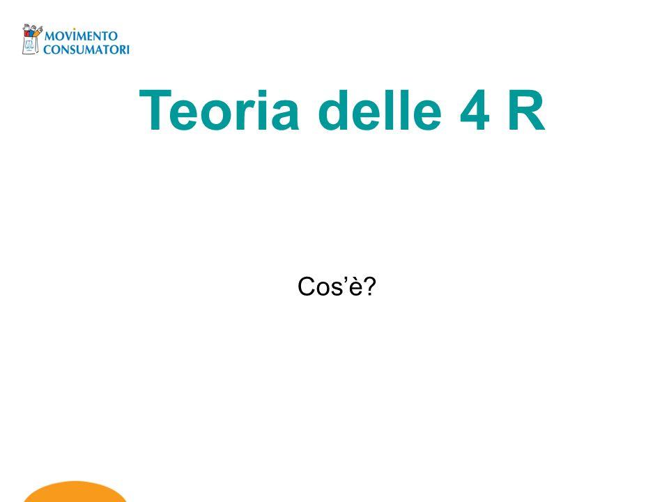 Teoria delle 4 R Cos'è