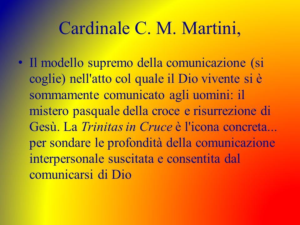 Cardinale C. M. Martini,