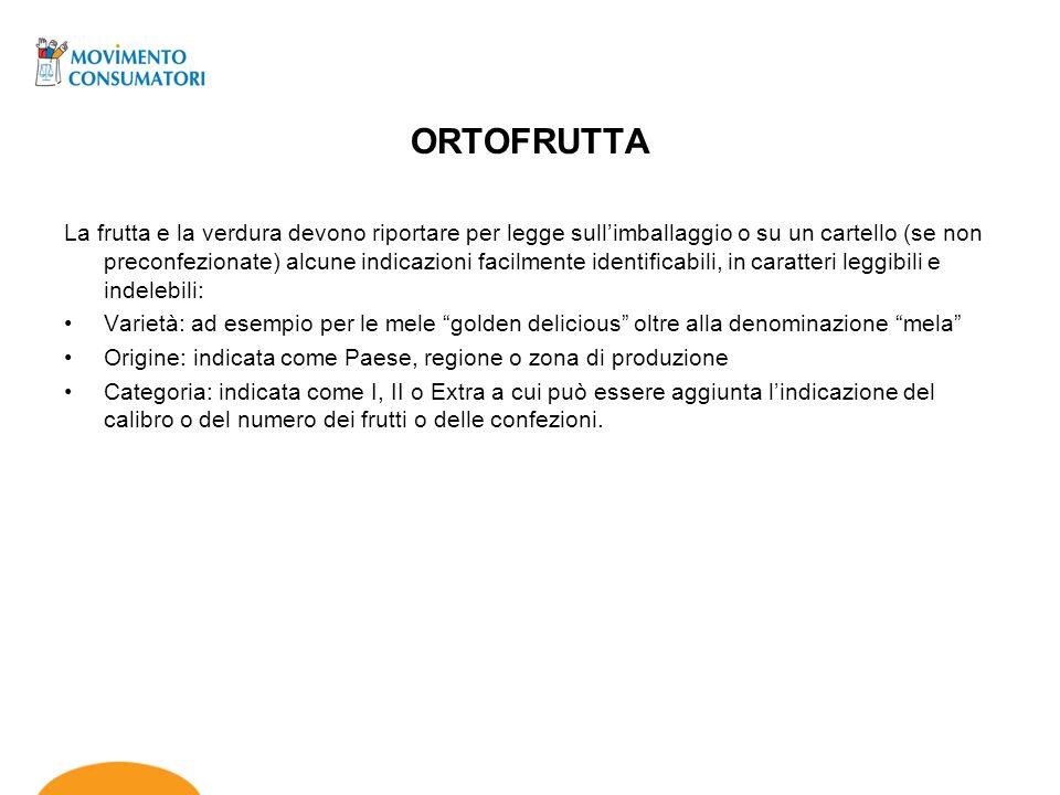 ORTOFRUTTA