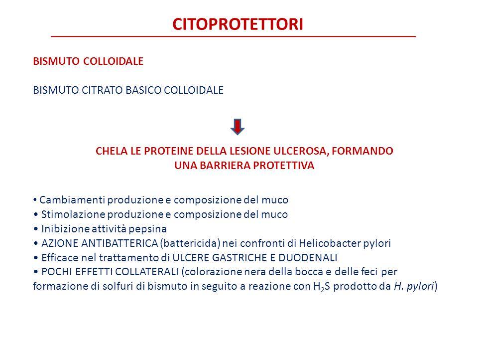 CITOPROTETTORI BISMUTO COLLOIDALE BISMUTO CITRATO BASICO COLLOIDALE