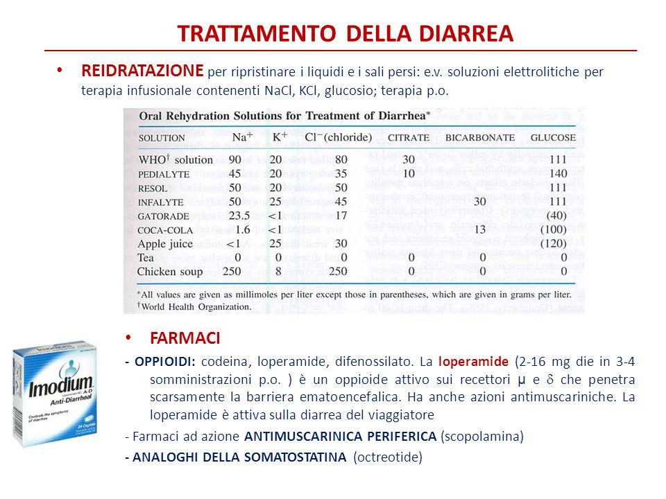 Trattamento della diarrea