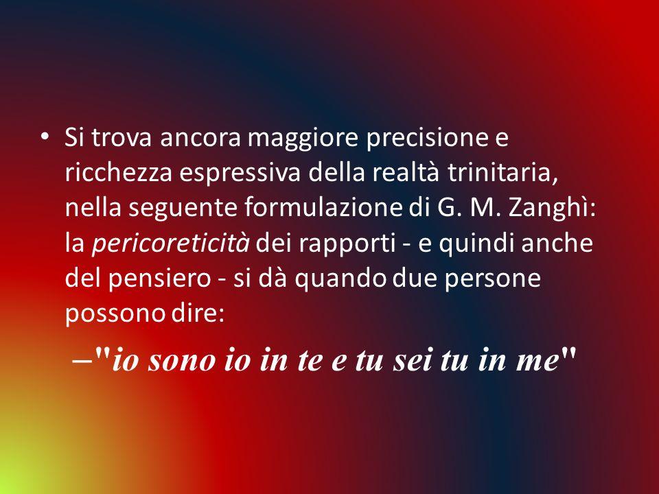 io sono io in te e tu sei tu in me