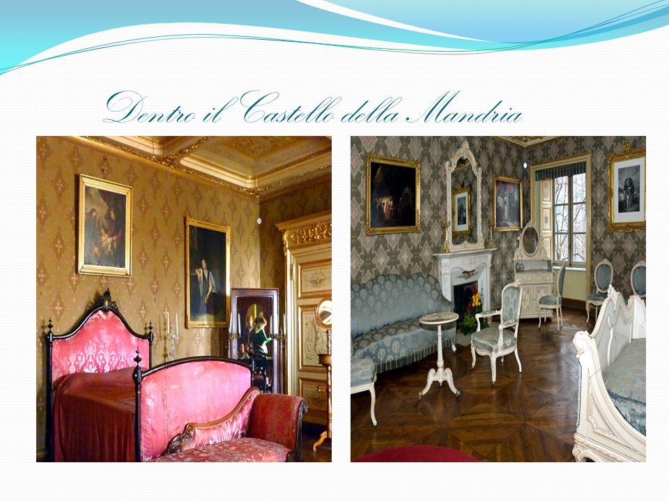 Dentro il Castello della Mandria