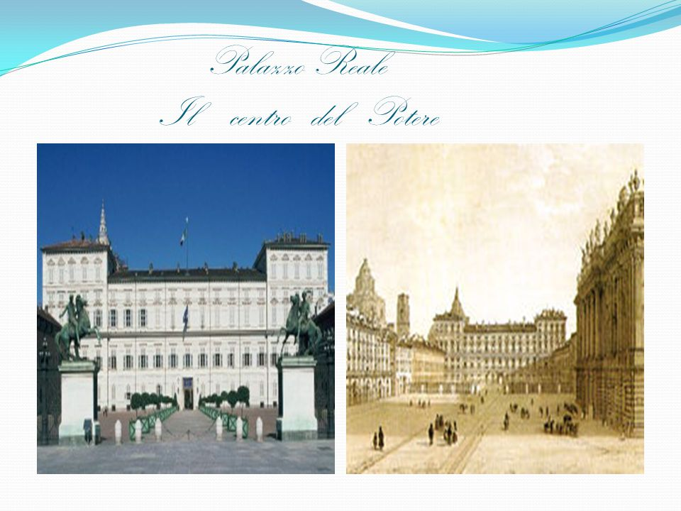 Palazzo Reale Il centro del Potere