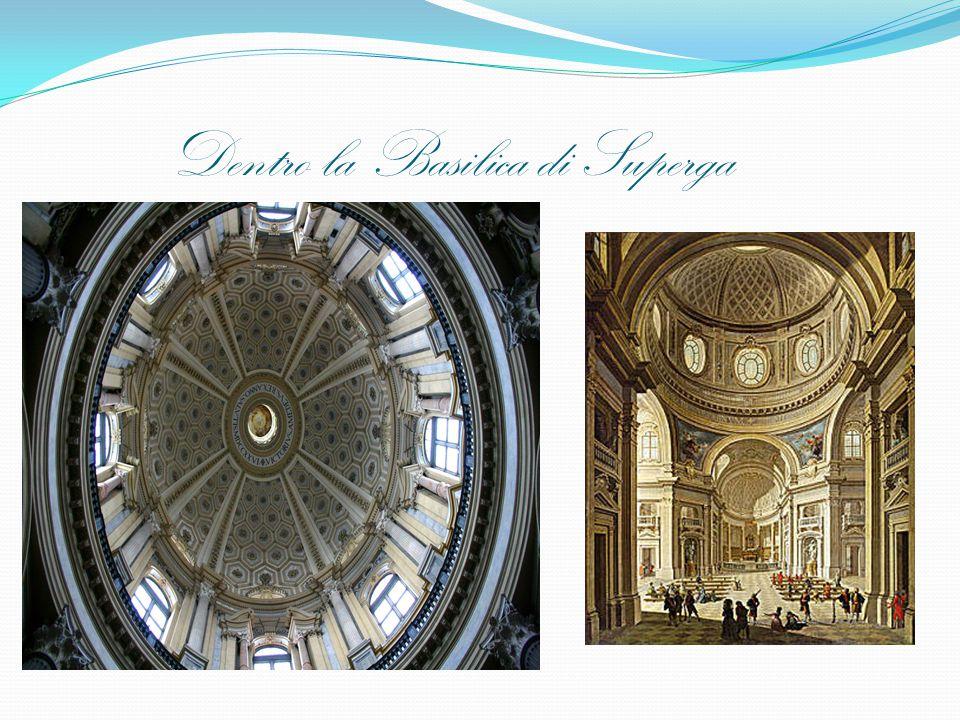 Dentro la Basilica di Superga