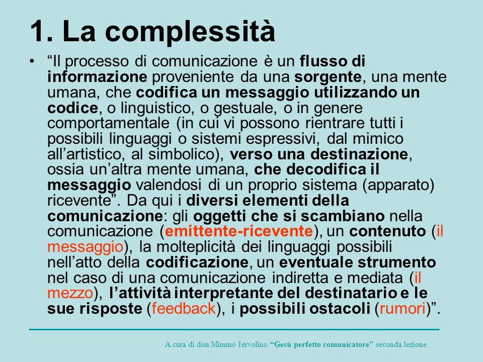 1. La complessità