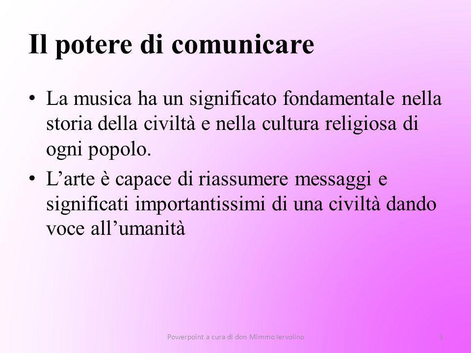 Il potere di comunicare