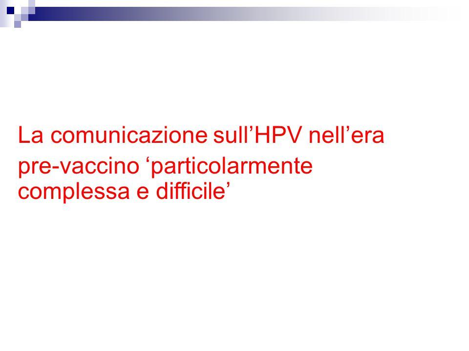 La comunicazione sull'HPV nell'era