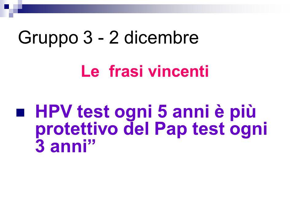 HPV test ogni 5 anni è più protettivo del Pap test ogni 3 anni