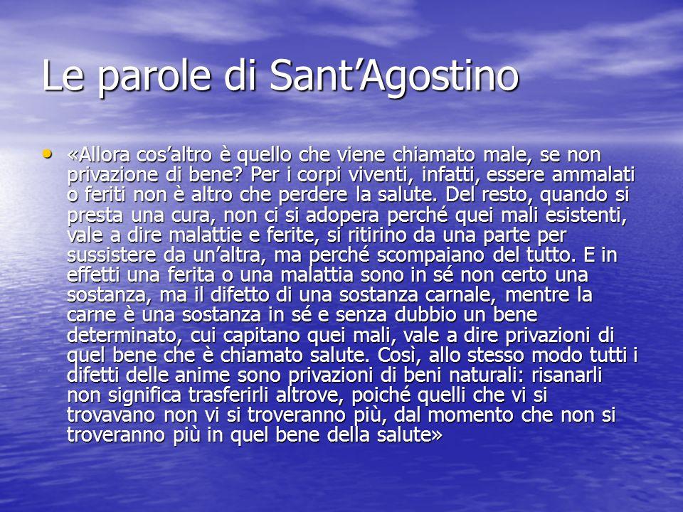 Le parole di Sant'Agostino