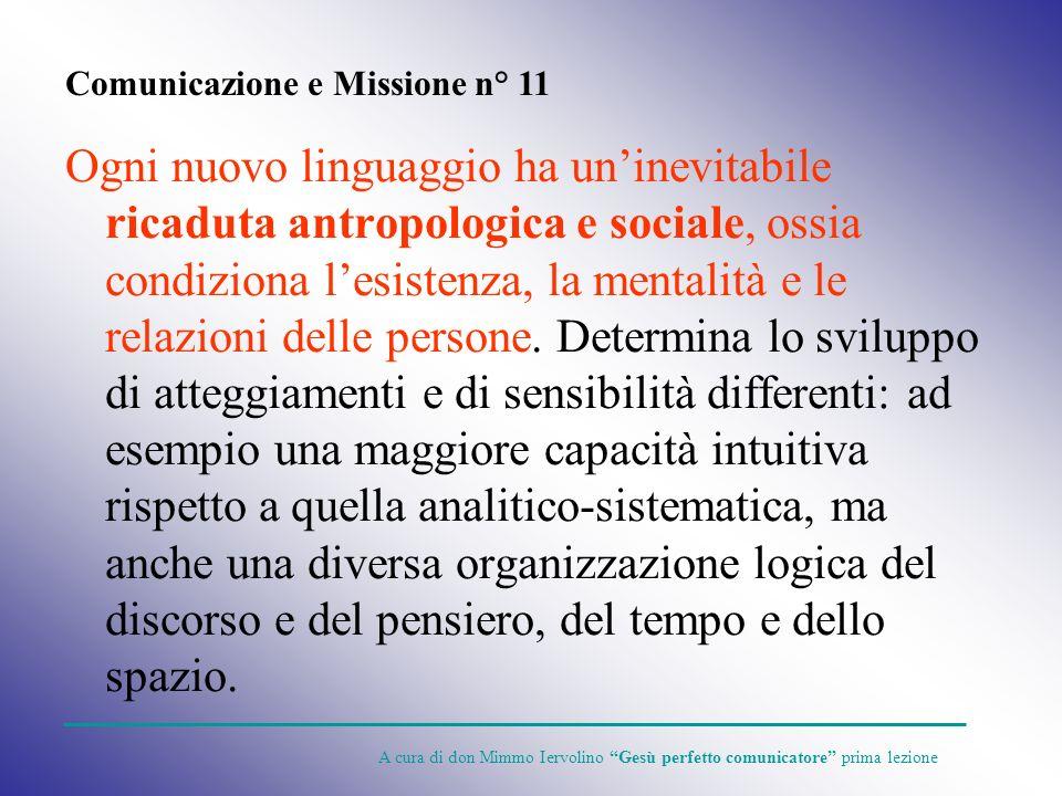 Comunicazione e Missione n° 11