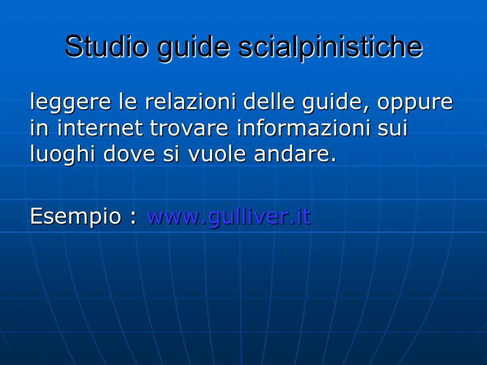 Studio guide scialpinistiche