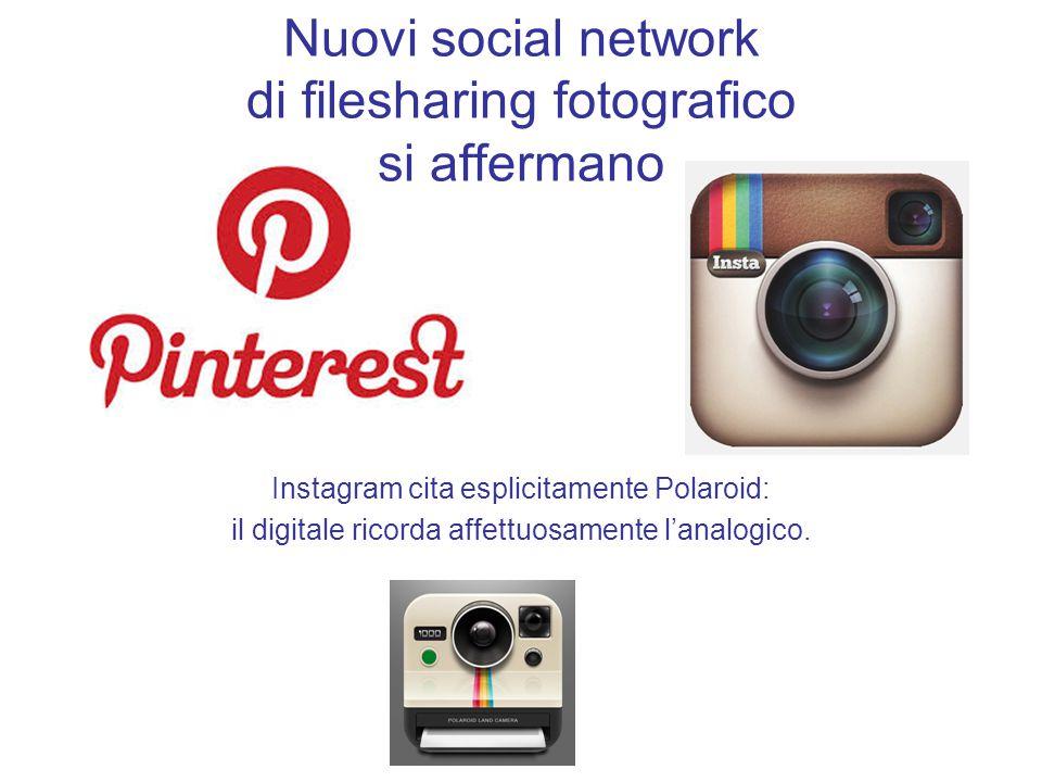 Nuovi social network di filesharing fotografico si affermano