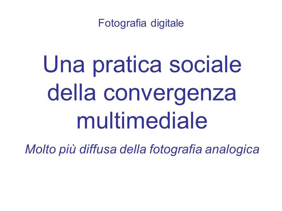 Una pratica sociale della convergenza multimediale