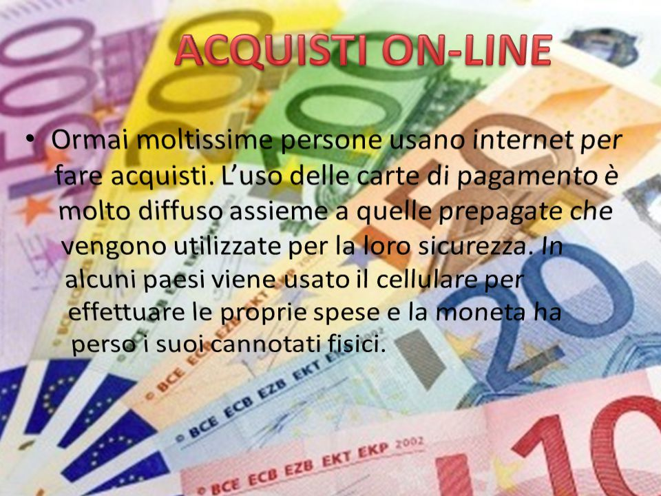 ACQUISTI ON-LINE