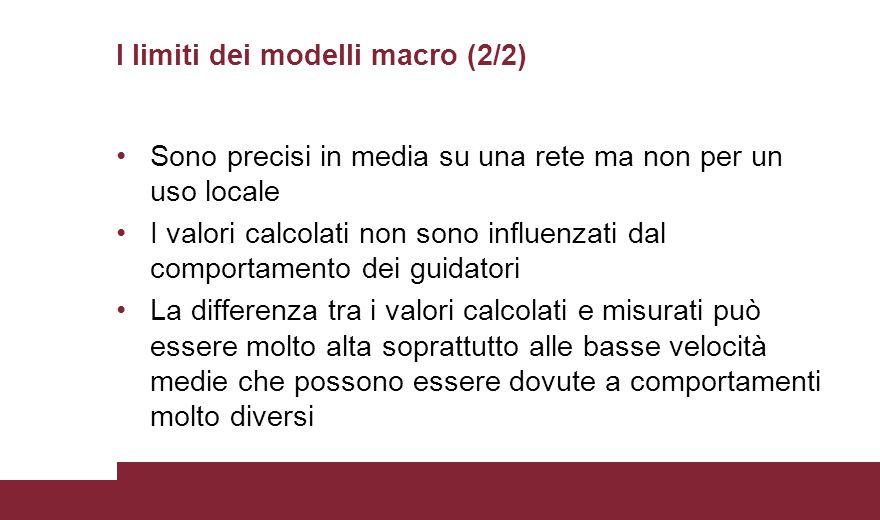 I limiti dei modelli macro (2/2)