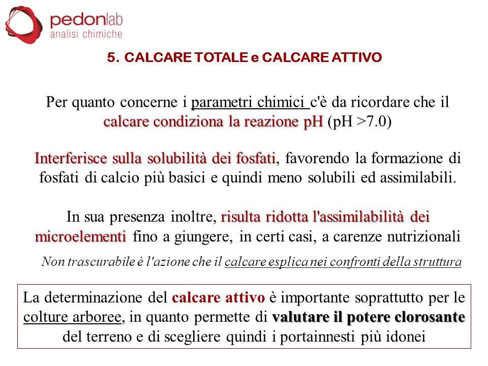 5. CALCARE TOTALE e CALCARE ATTIVO