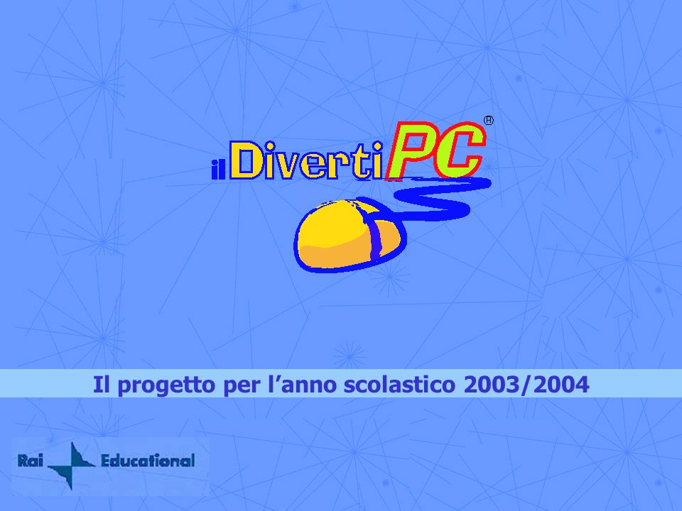 Il progetto per l'anno scolastico 2003/2004