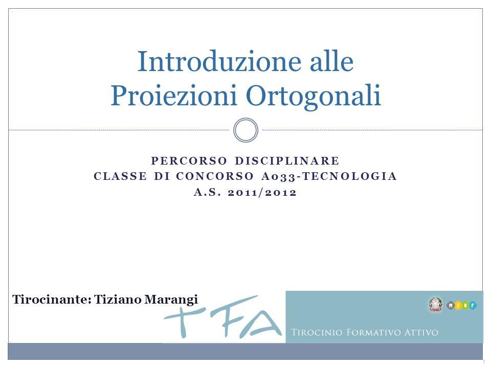 Introduzione alle Proiezioni Ortogonali