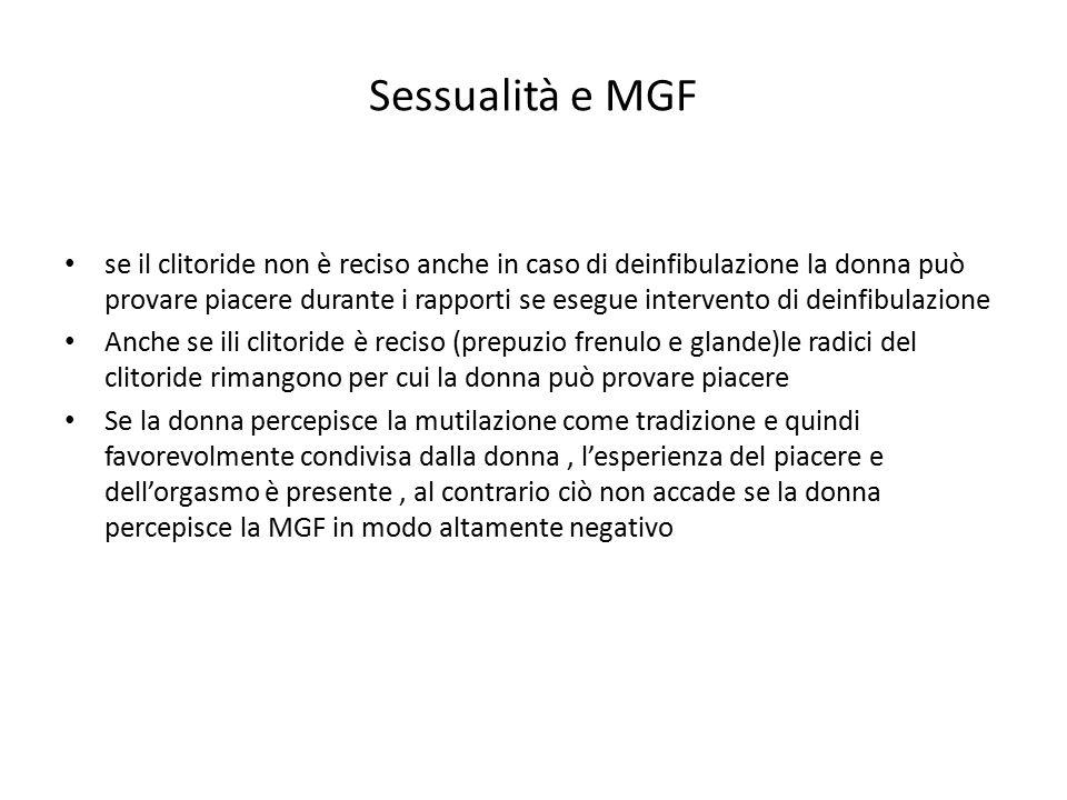 Sessualità e MGF